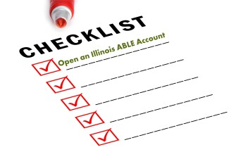 Checklist with red marker and checked boxes.